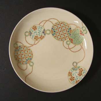 毬文5寸皿