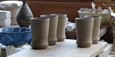 京焼ビールカップ