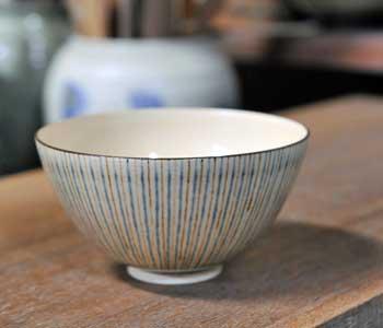 京焼 十草飯椀